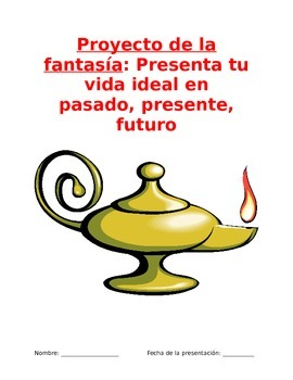 Project Sp3, Sp4, Sp5 - My Fantasy Persona: Past, Present, and Future Tenses
