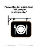 Project Sp3, Sp4, Sp5 - Restaurante ideal: Crear carta, presentar especialidad