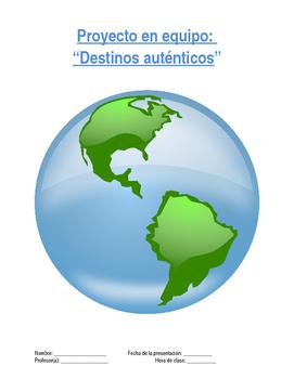 Project Sp5 - Destinos autenticos: Future and Conditional Travel Plans
