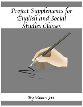 Project Supplements for English and Social Studies Classes