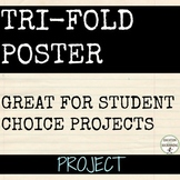 Poster Project for All Subjects EDITABLE RUBRIC