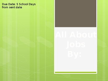Project about Jobs/Future