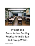 Project and Presentation Grading Rubrics for Individual and Group Work