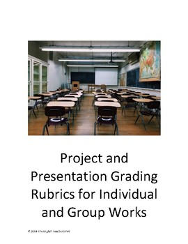 Project and Presentation Grading Rubrics for Individual an