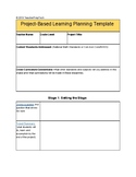 Project-based Learning Planner