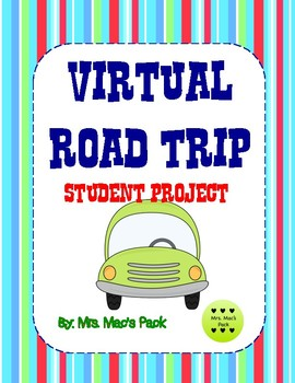 Virtual Road Trip Math Activity Research Planning Budgeting Project