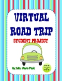 Virtual Road Trip Math Activity -Research, Planning & Budgeting Project-