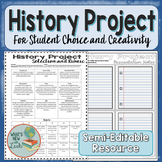 Project for Any History Unit