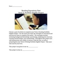 Project for Reading Expository Text