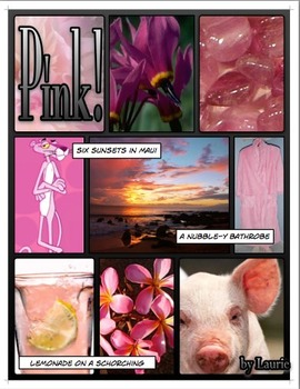 Color Poetry Lesson - Comic Life ProjectPackage©