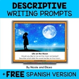 Projectable Descriptive Writing Prompts