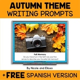 Projectable Fall Writing Prompts
