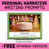 Projectable Personal Narrative Writing Prompts