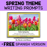 Projectable Spring Writing Prompts