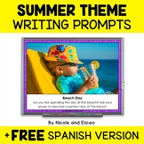 Projectable Summer Writing Prompts