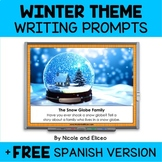 Projectable Winter Writing Prompts