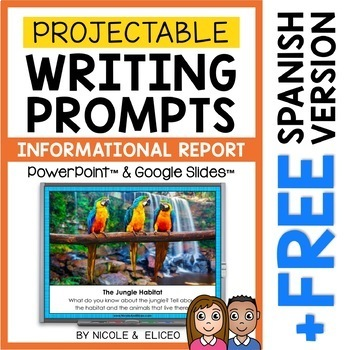 Projectable Writing Prompts Mega Bundle