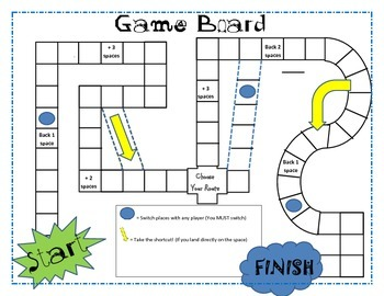 image relating to Printable Game Board identify Projectable (or printable) Video game Board