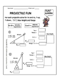 Projectile Fun! This Pirate Worksheet is Rated AARRGH!! 30-60-90 triangles