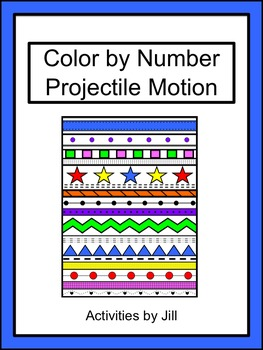 Projectile Motion Color by Number