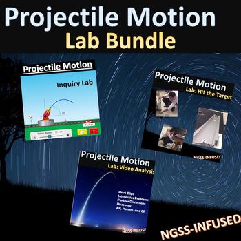 Projectile Motion Lab Bundle