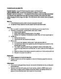 Projectile Motion Lab Lesson Plan