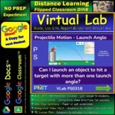 Projectile Motion - Launch Angle STAR* Virtual Lab Google Docs™ DINB