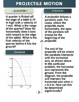 Projectile Motion Questions (Solved)