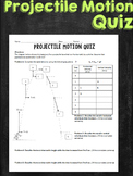 Projectile Motion Quiz Task
