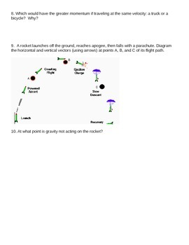 Projectile Motion Theory Review
