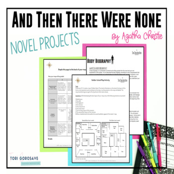 Projects - And Then There Were None by Agatha Christie