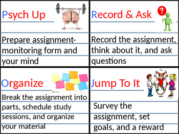 Projects Homework Strategy Booklet