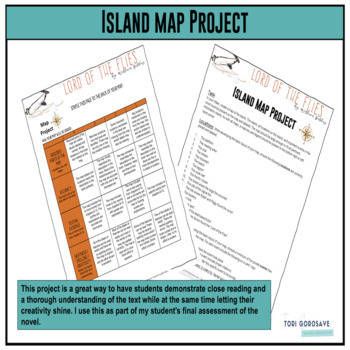 Projects - Lord of the Flies by William Golding