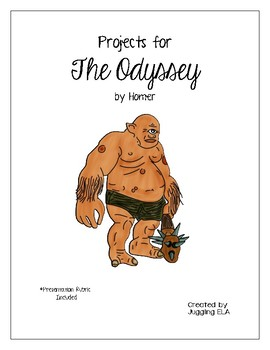 Projects for The Odyssey by Homer