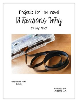 Projects for novel 13 Reasons Why by Jay Asher
