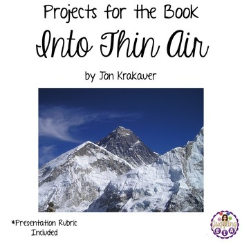 Projects for the book Into Thin Air by Jon Krakauer
