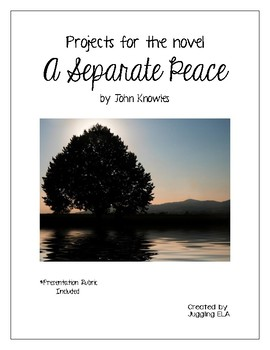 Projects for the novel A Separate Peace by John Knowles