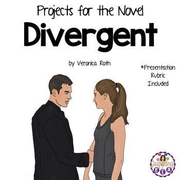 Projects for the novel Divergent by Veronica Roth