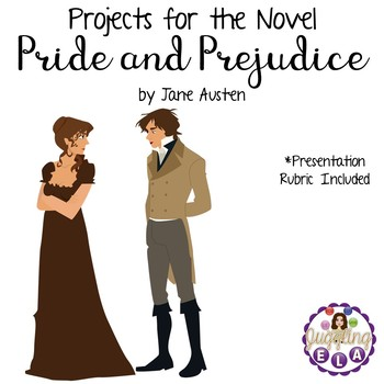 Projects for the novel Pride and Prejudice by Jane Austen