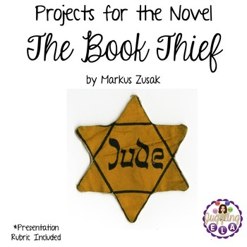 Projects for the novel The Book Thief by Markus Zusak