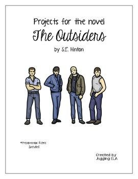 Projects for the novel The Outsiders by S.E. Hinton