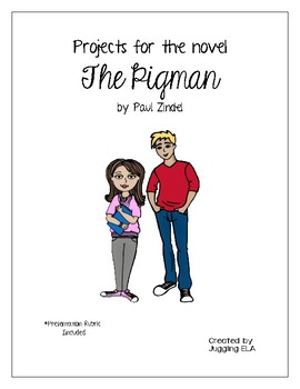 Projects for the novel The Pigman by Paul Zindel