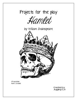 Projects for the play Hamlet by William Shakespeare