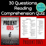 Projekt 1065 (Alan Gratz)--Comprehension Test or Quiz