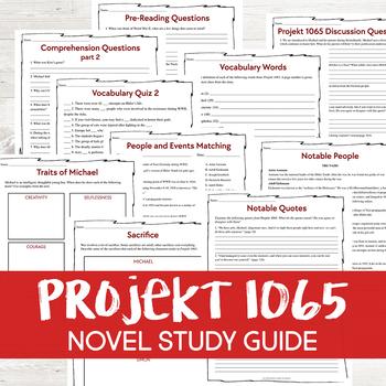 Projekt 1065 by Alan Gratz Novel Study