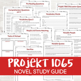 Projekt 1065 by Alan Gratz Novel Study