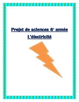 Projet 6e année électricité (Ontario)