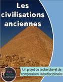 Projet - Comparaison de civilisations anciennes