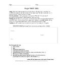 Projet Moi: French 2 Beginning of the Year Review