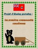 Projet d'Etudes Sociales 5e et 6e année: Les premières communautés